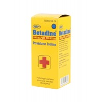 Betadine Antiseptic Solution 60Ml