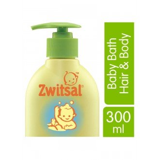 Zwitsal Baby Bath Natural 2 In 1 Hair  Body 300Ml